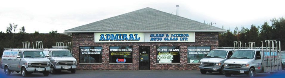 Admiral Glass business front